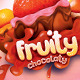 Fruity Chocolaty Candy Poster - GraphicRiver Item for Sale