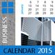 Business Calendar Template 2015 (2014) - GraphicRiver Item for Sale