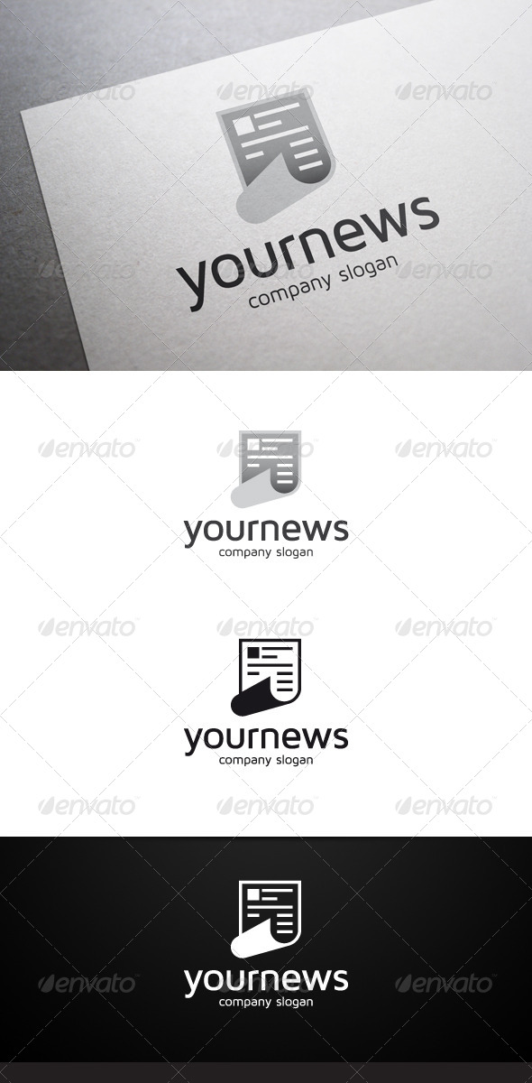 Your News Logo - Objects Logo Templates