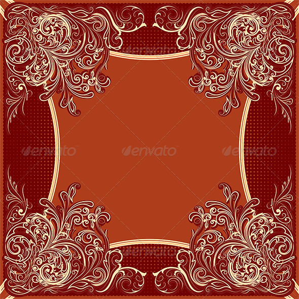 Retro Frame - Decorative Vectors