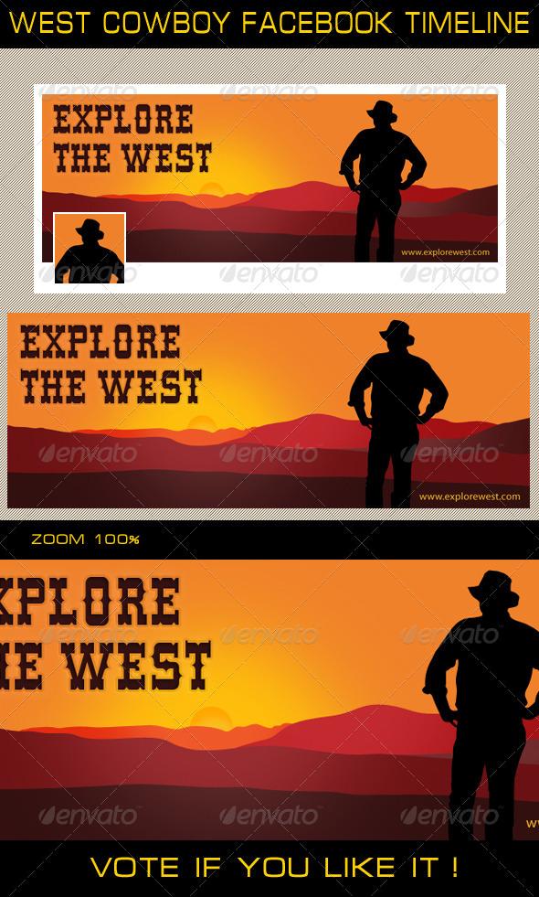 West Cowboy Facebook Timeline - Facebook Timeline Covers Social Media