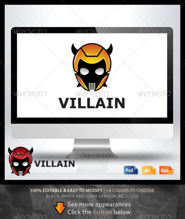 Villain Logo - Humans Logo Templates