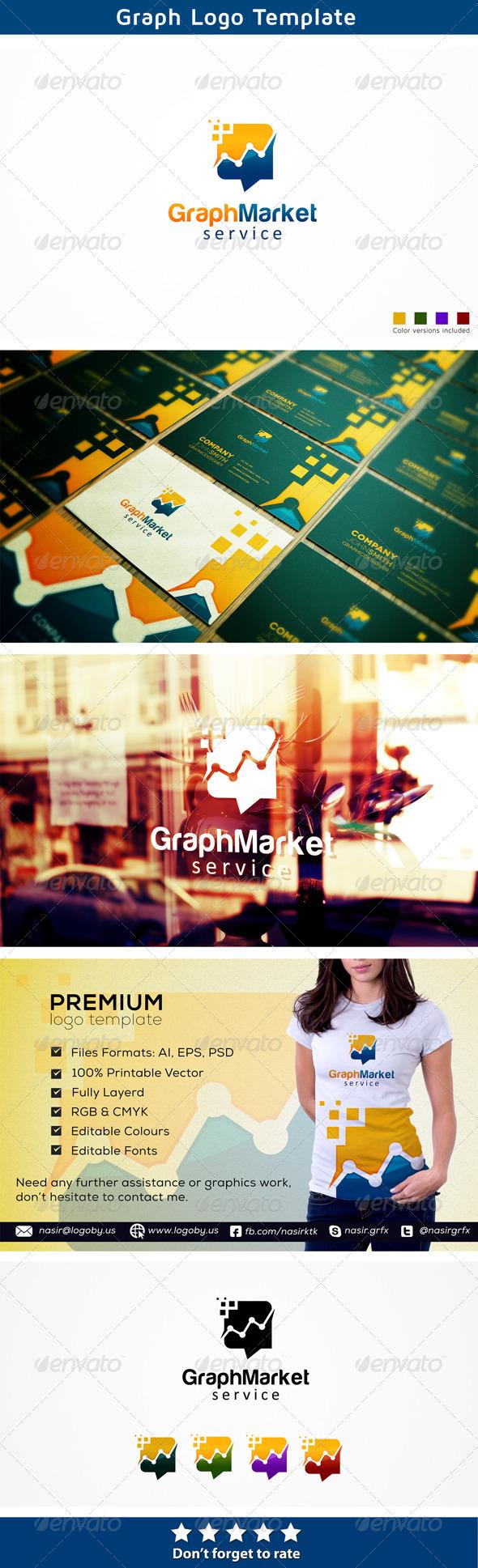 Marketing Graph - Abstract Logo Templates