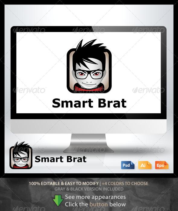 Smart Brat Logo - Humans Logo Templates