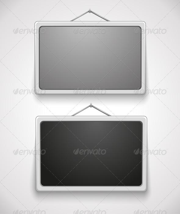 Wall Frames - Objects Vectors