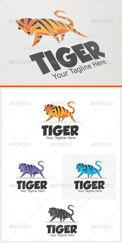 Tiger - Animals Logo Templates