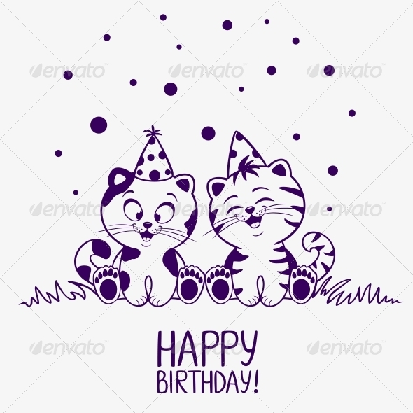 Kittens Birthday - Birthdays Seasons/Holidays