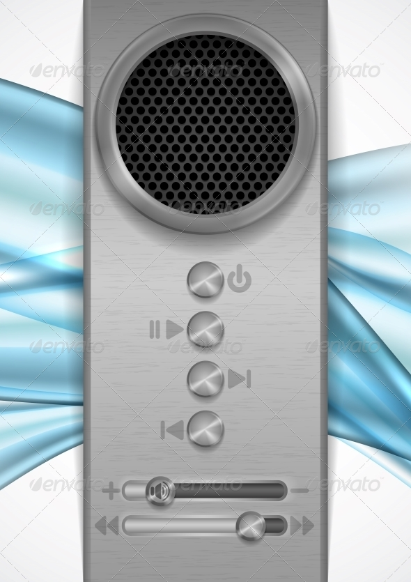 Abstract Speaker Concept Design - Media Technology