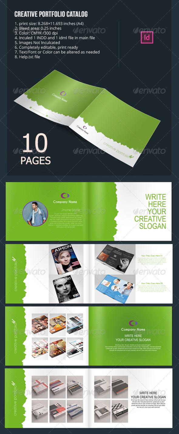 Creative Portfolio Catalog - Portfolio Brochures