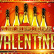 Valentine Party v.2 flyer - GraphicRiver Item for Sale