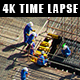 Construction Site with Engineers and Workers  - VideoHive Item for Sale