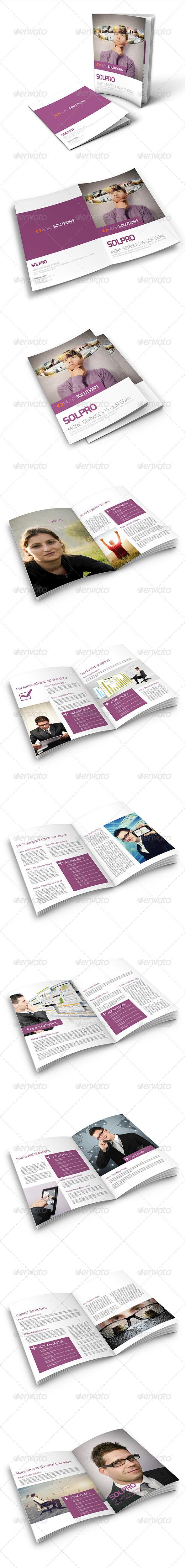 Clean Corporate Service Brochure - Corporate Brochures