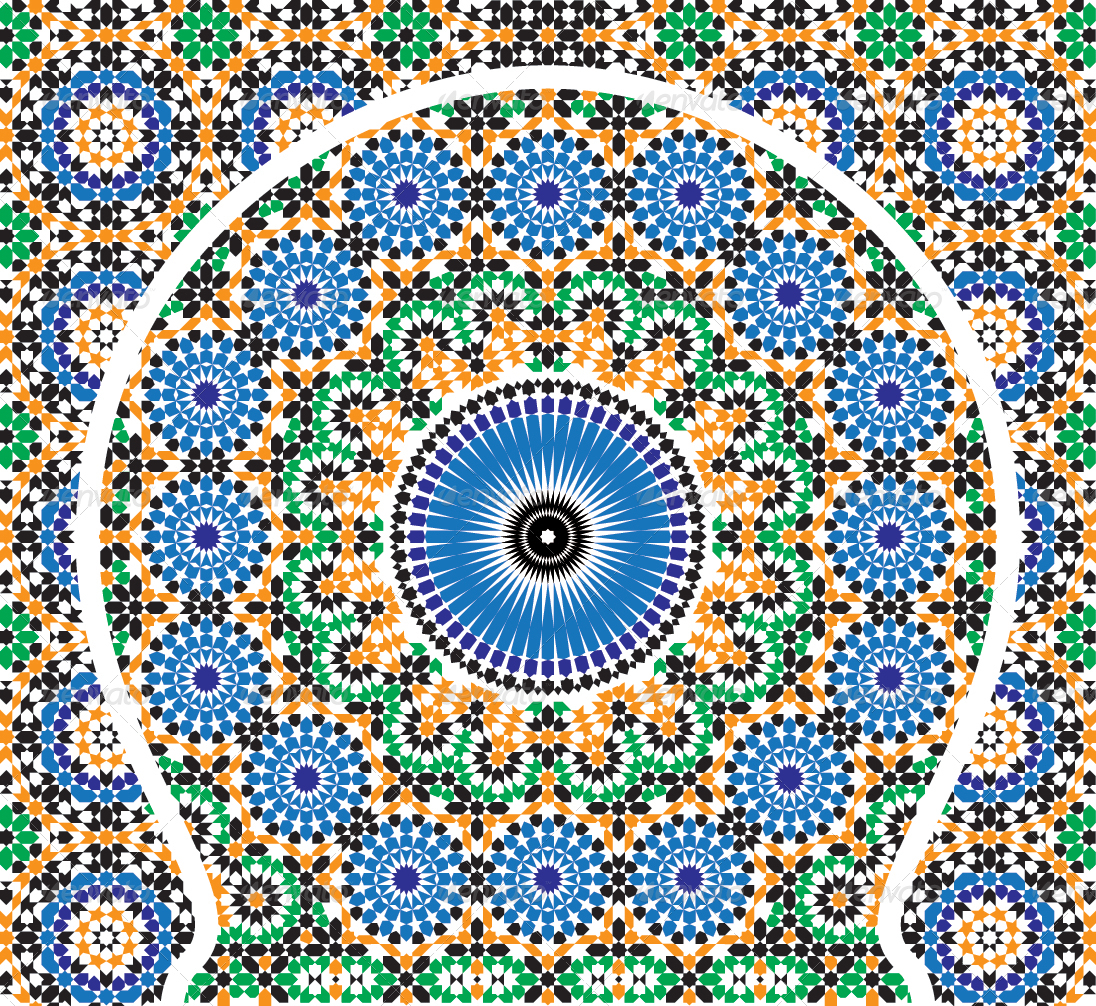 Moroccan Pattern 7 by dinoart   GraphicRiver