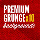 Grunge Backgrounds Premium 10 Vintage Bundle - GraphicRiver Item for Sale