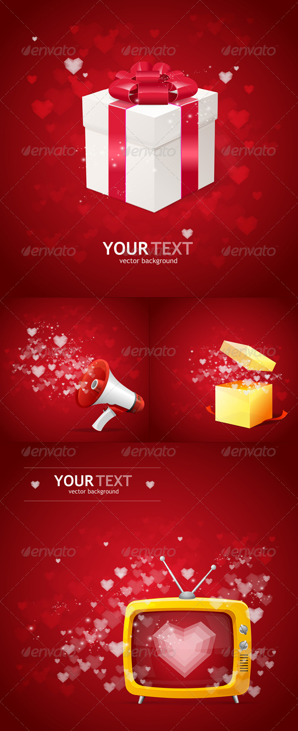 Valentines Day Cards Background  - Valentines Seasons/Holidays