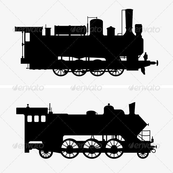 Steam Locomotives - Man-made Objects Objects
