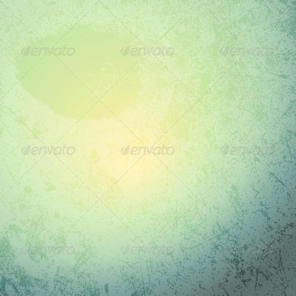 Mint Grunge Texture - Backgrounds Decorative