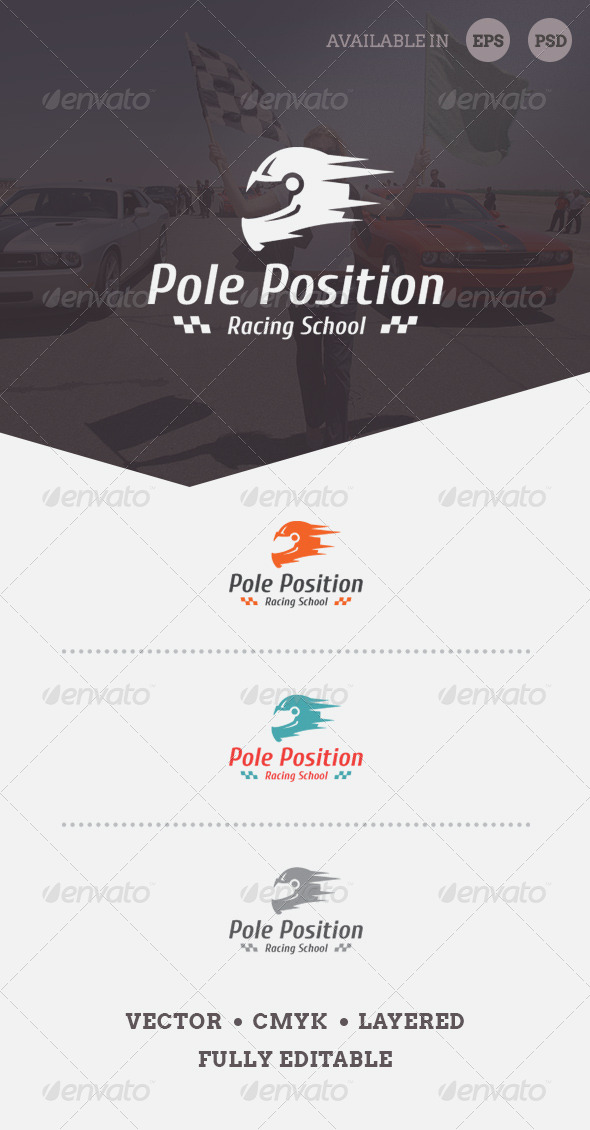 Pole Position Logo Template - Objects Logo Templates