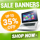 Online Marketing Banners - GraphicRiver Item for Sale