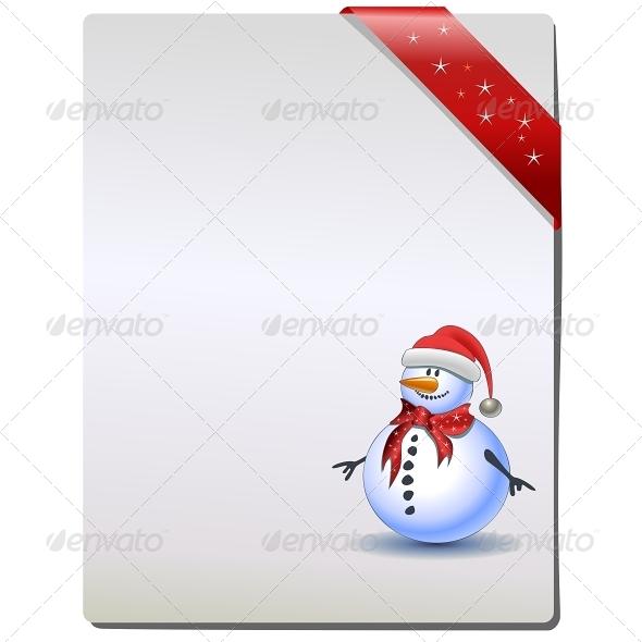 Christmas Gift Page - Christmas Seasons/Holidays