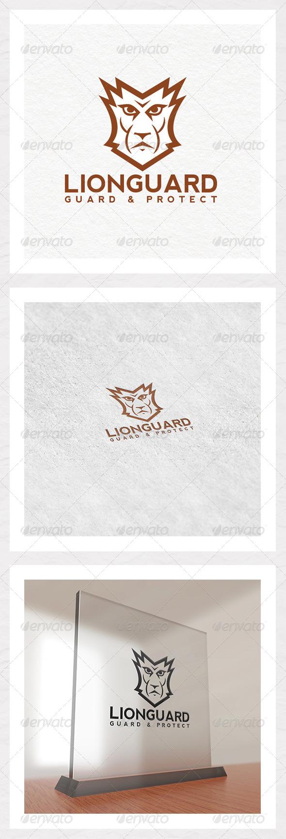 Lion Guard Logo Template - Animals Logo Templates