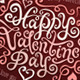 Valentine's Day Greetings Hand Lettering - GraphicRiver Item for Sale
