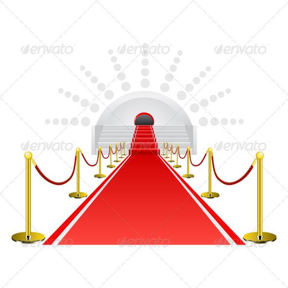 Red Carpet - Conceptual Vectors