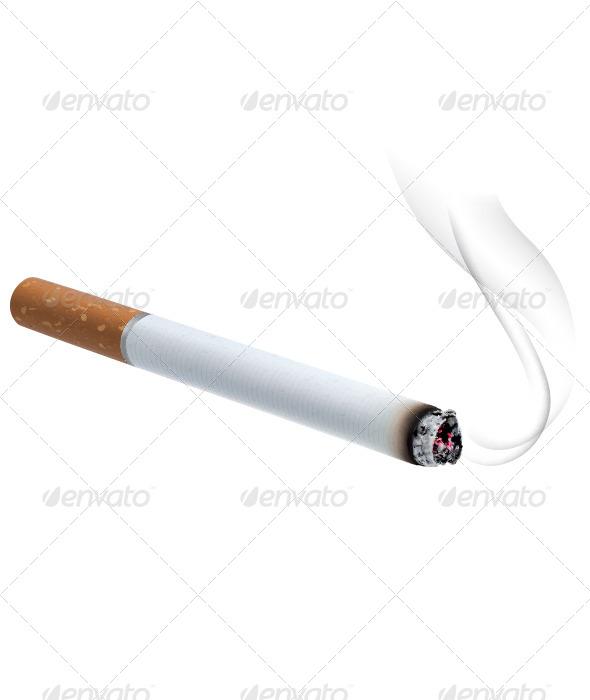 Burning Cigarette - Miscellaneous Conceptual