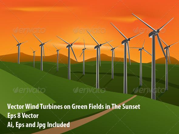 Wind Turbines - Conceptual Vectors