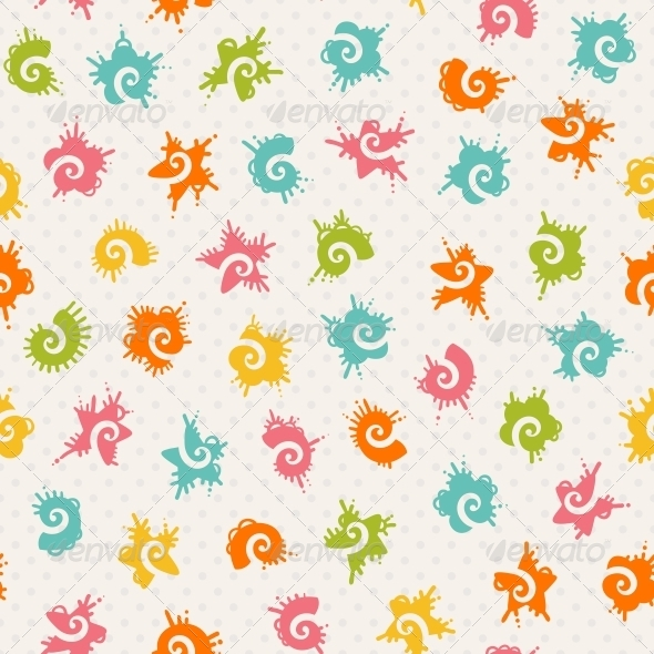 Seamless Baby Pattern - Patterns Decorative