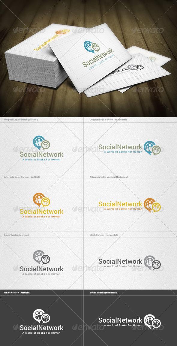 Social Network Logo - Symbols Logo Templates