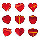 Gift Hearts - GraphicRiver Item for Sale