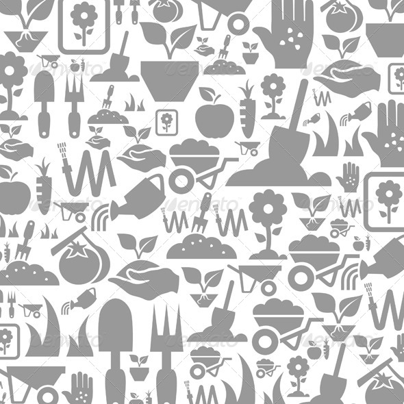 Garden a Background - Miscellaneous Vectors