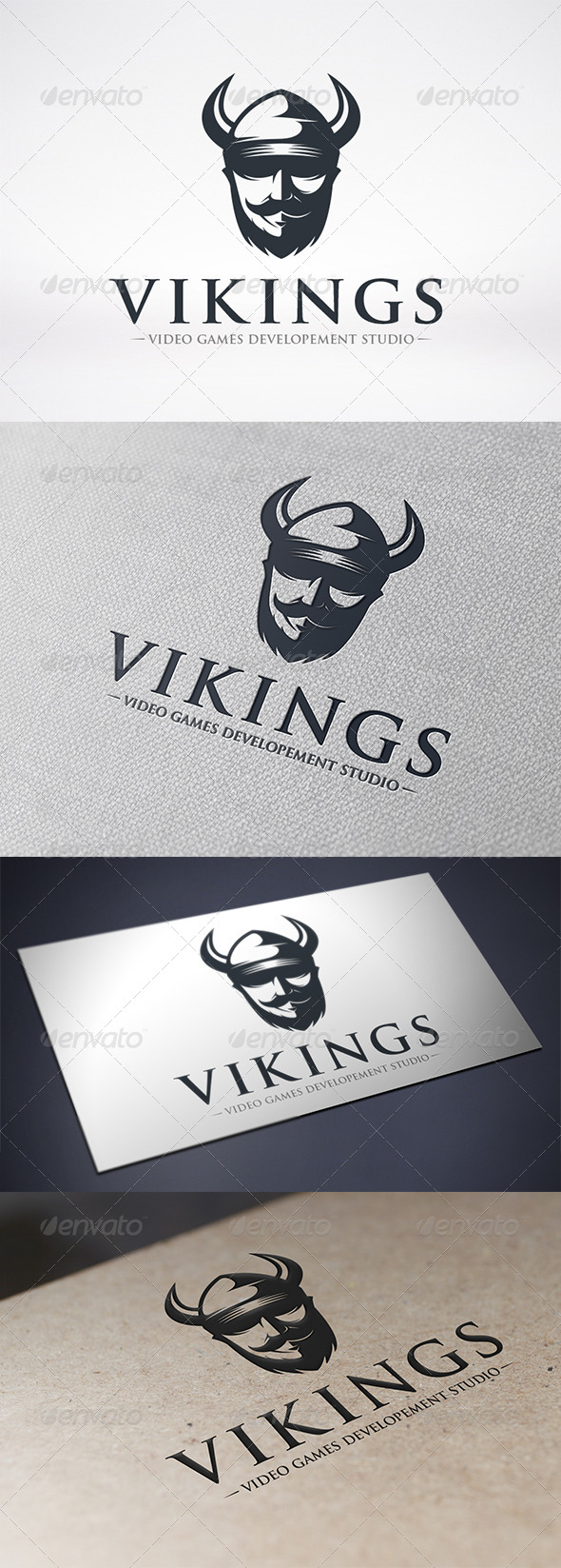 Viking Logo Template - Humans Logo Templates