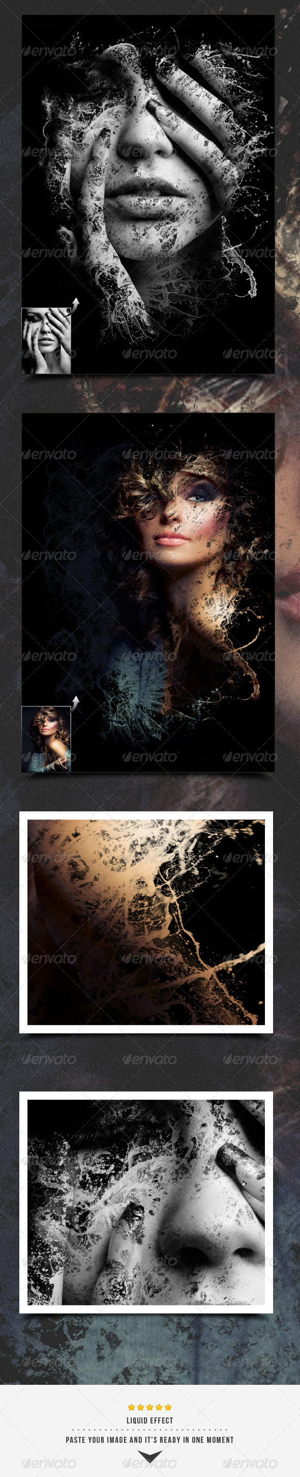 Liquid Image Frame - Artistic Photo Templates