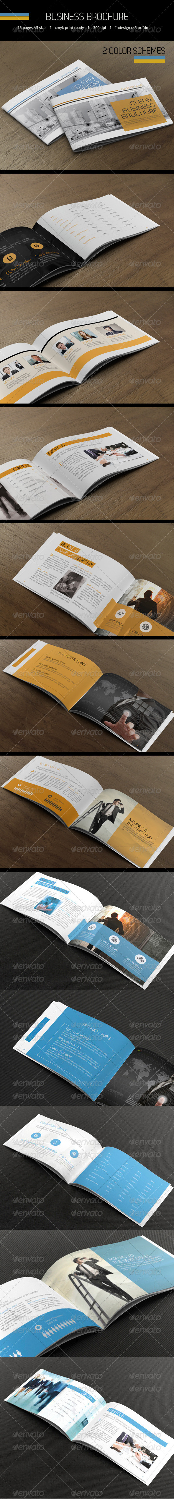 Business Brochure A5 - Catalogs Brochures
