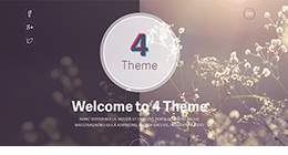 4 theme - Onepage Website Template