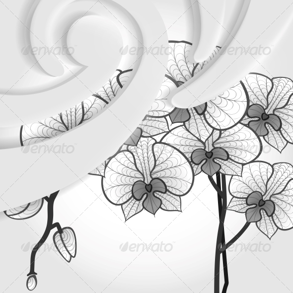 Abstract Modern Background. - Flowers & Plants Nature