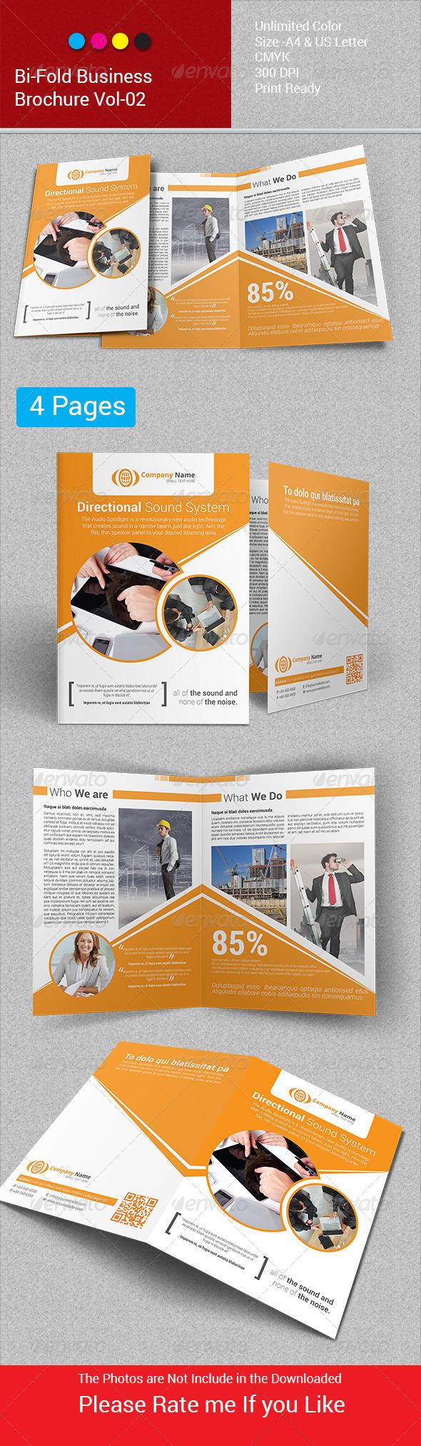 Bi-Fold Business Brochure Vol-02 - Corporate Flyers