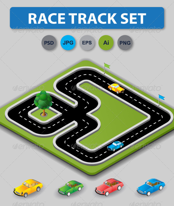 Race Treck Set - Industries Business
