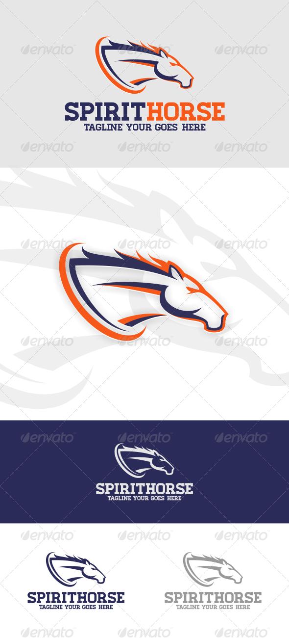 Spirit Horse Logo Template - Animals Logo Templates