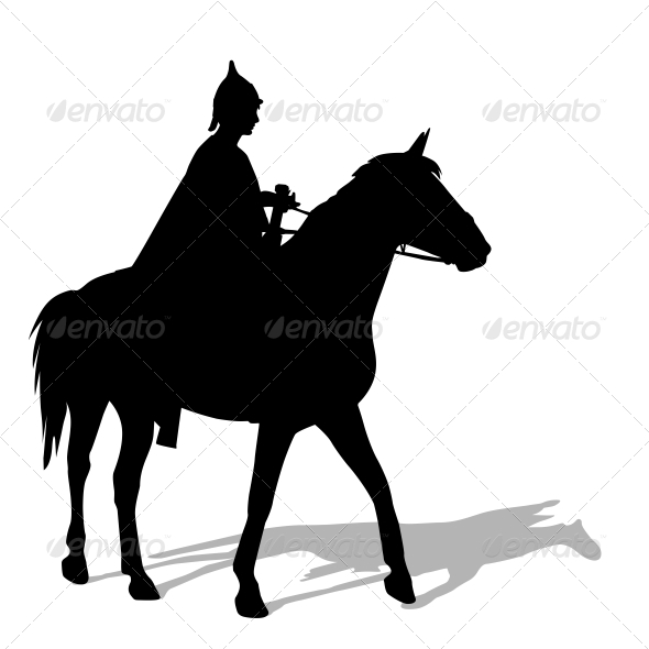 Rider on a Horse - Animals Characters