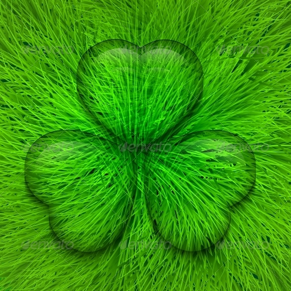 Vector St. Patrick's Day Background - Seasons Nature