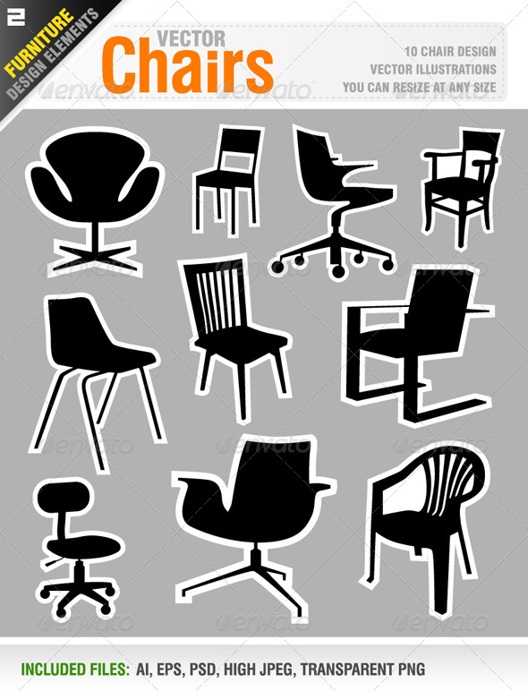 Chairs - Man-made Objects Objects