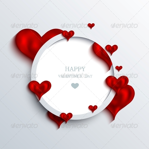 Vector Valentines Day Background - Valentines Seasons/Holidays