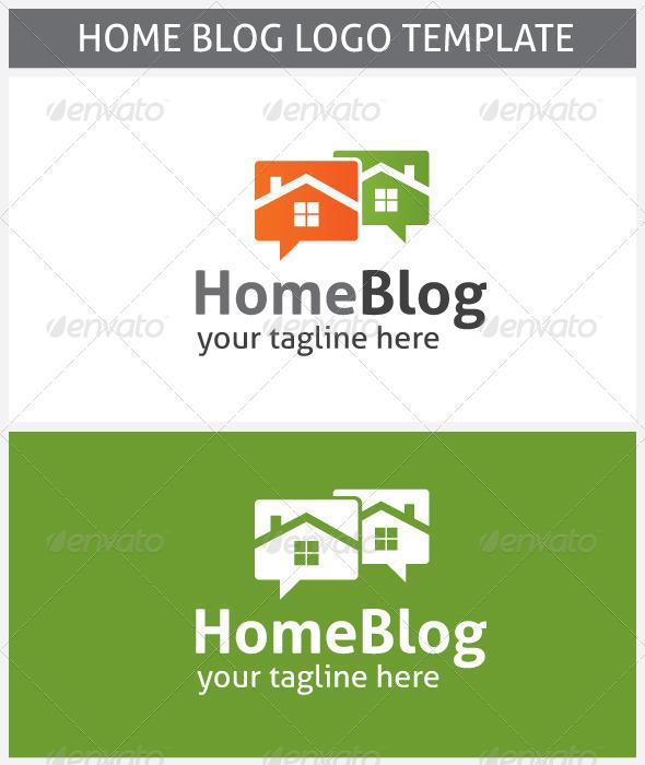 Home Blog Logo - Buildings Logo Templates