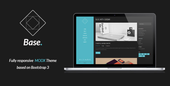 Download Base - Responsive MODX Theme nulled version