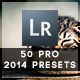 50 Pro Presets 2014 Edition - GraphicRiver Item for Sale