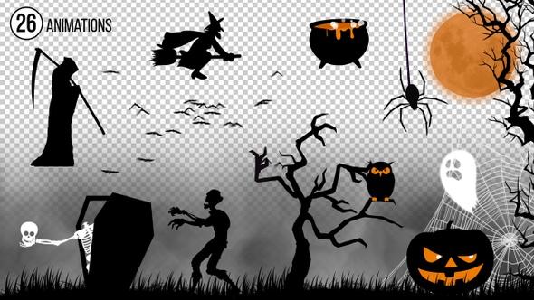Halloween Kit 22647949  - VideoHive
