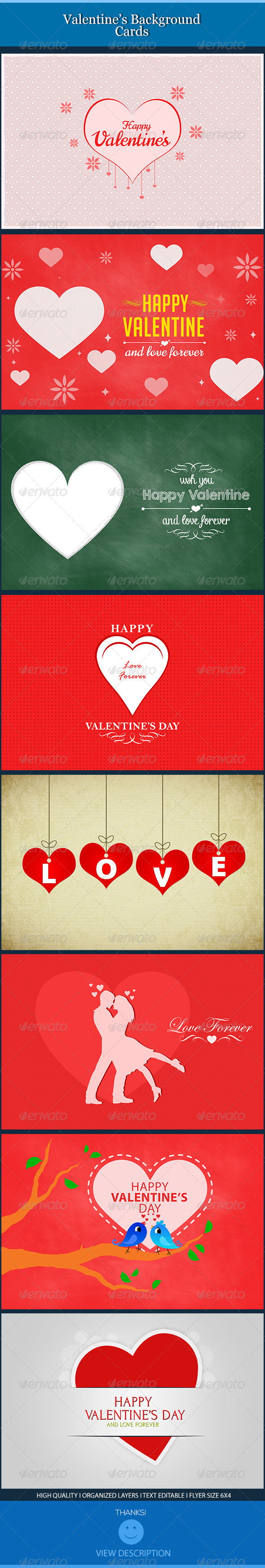 Valentine Backgrounds Cards - Backgrounds Graphics